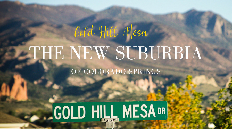 gold hill mesa blog title with street sign and mountain