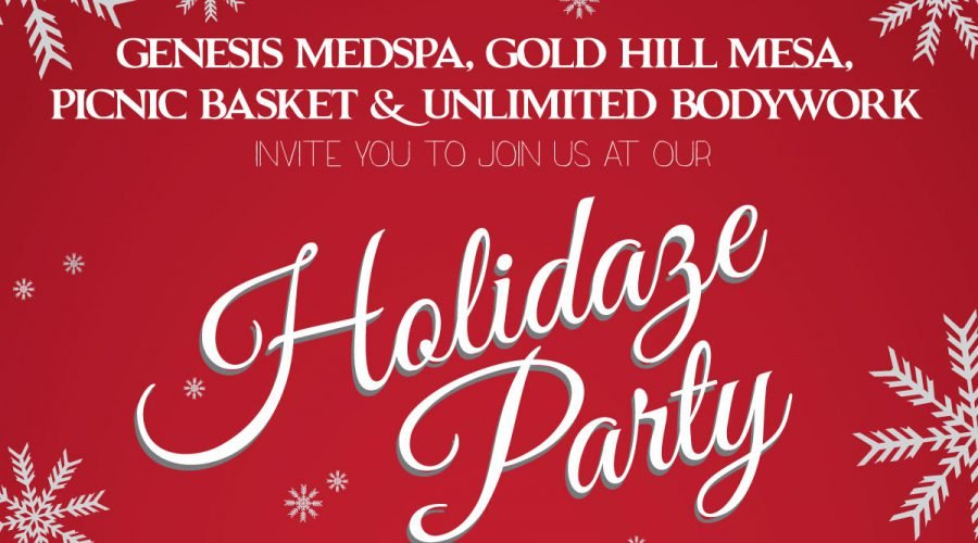 Holiday Party in Gold Hill Mesa