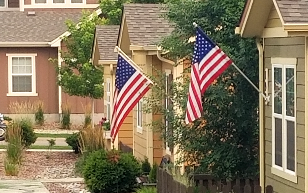 July 4th in Gold Hill Mesa