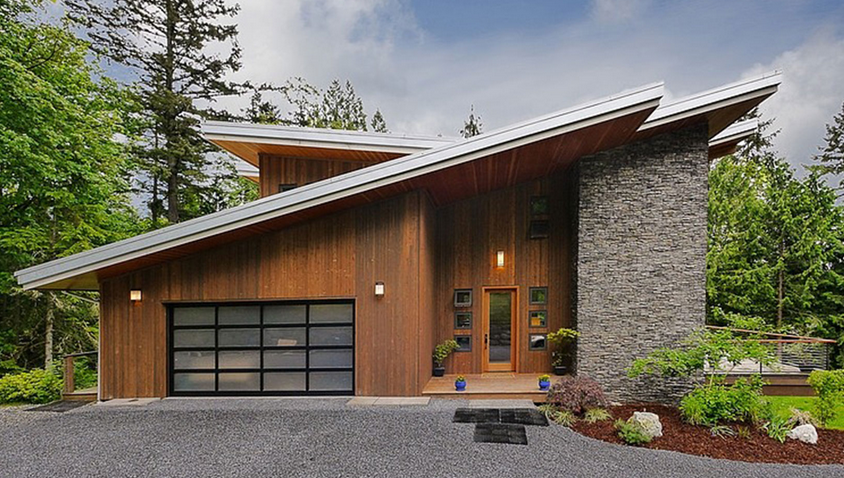 Contemporary Style Home.
